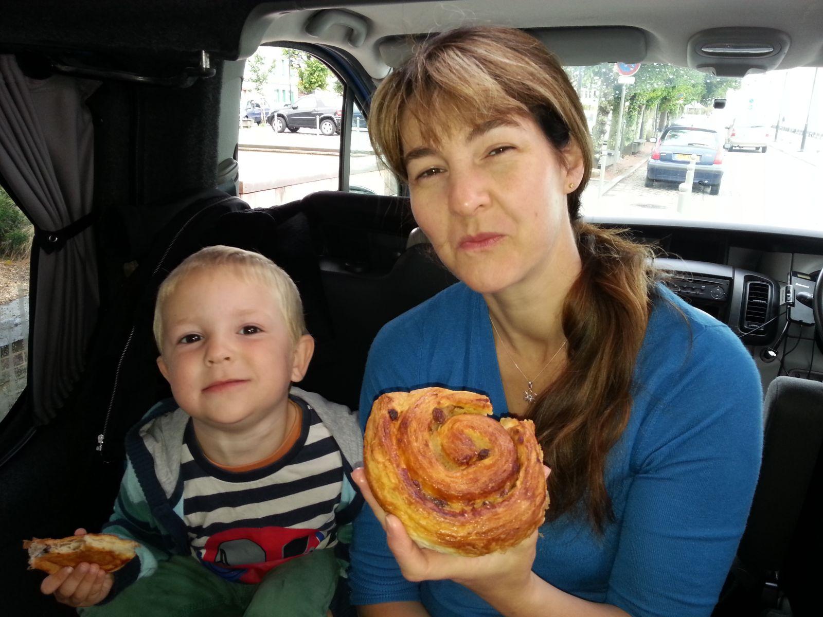 Sussex Campervans Rebekah Lopez-Ferreiro Breakfast criossants.jpg