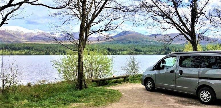 NC500 Loch Morlich Cairngorms
