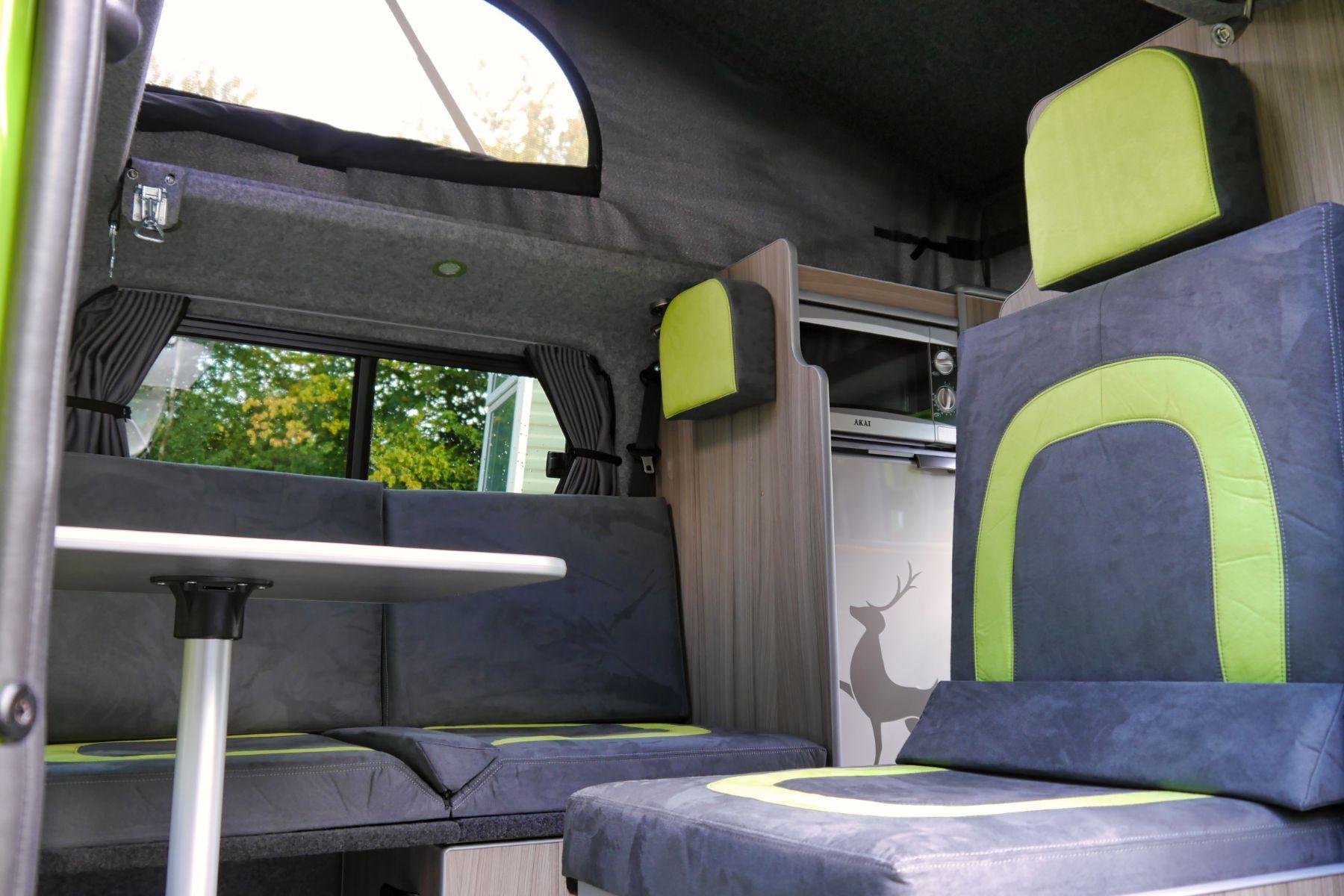 Nissan Paradise Campervan | Rear Kitchen | Sussex Campervans