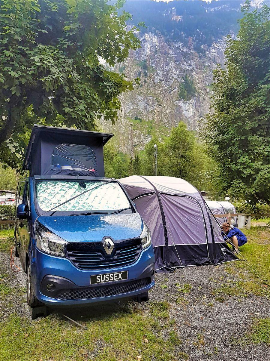 Swiss campsite