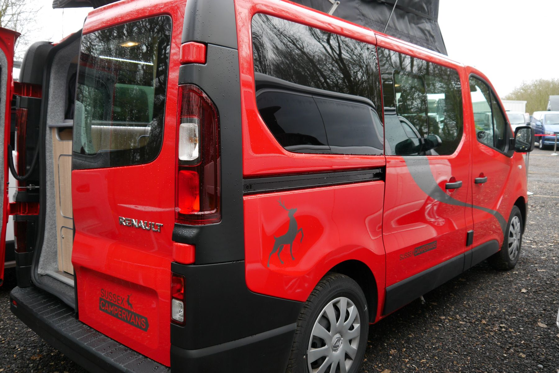 Paradise Campervan Perfect For Europe Sussex Campervans