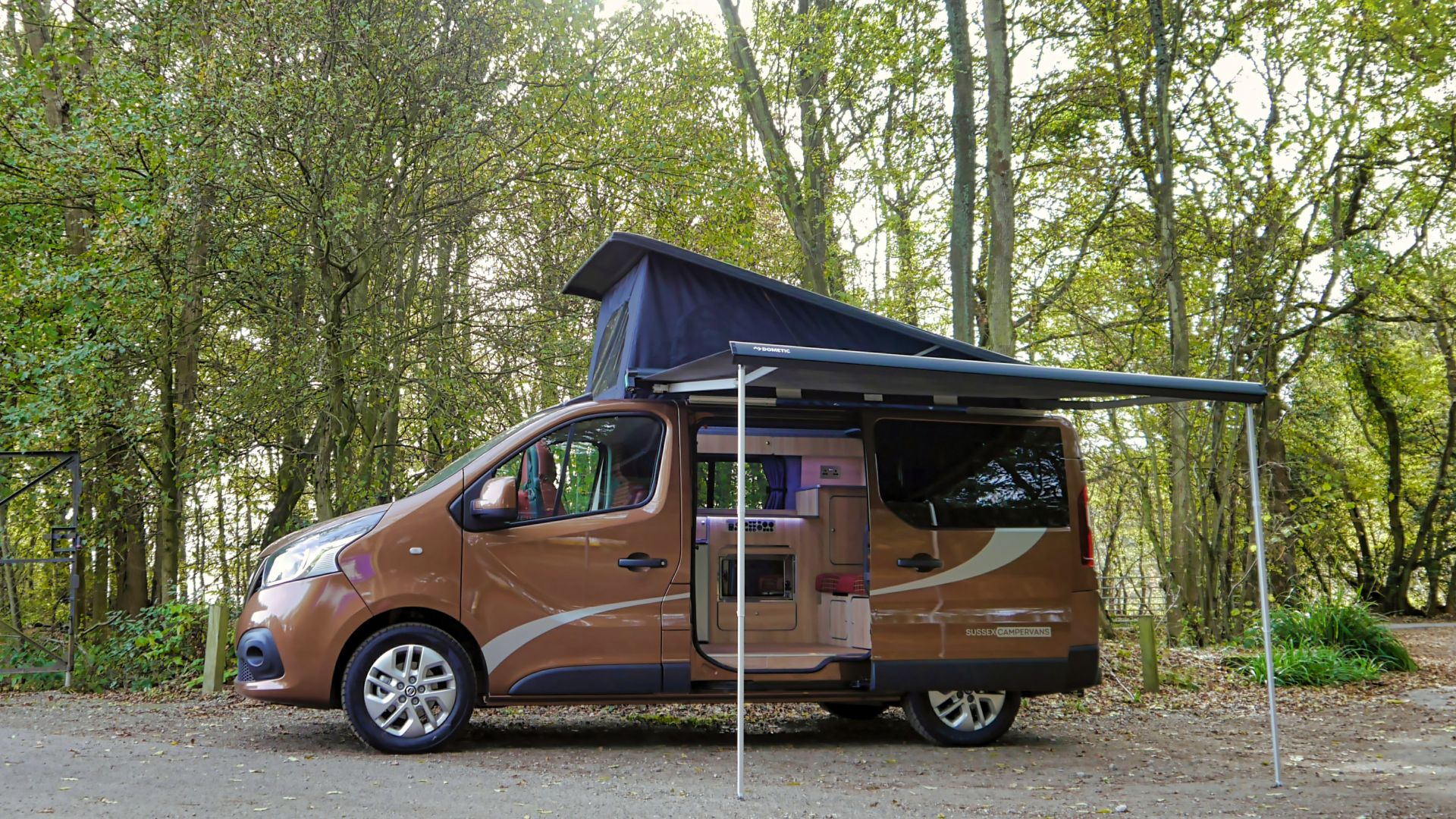 The Perfect Family Campervan - The Manhattan - Sussex Campervans