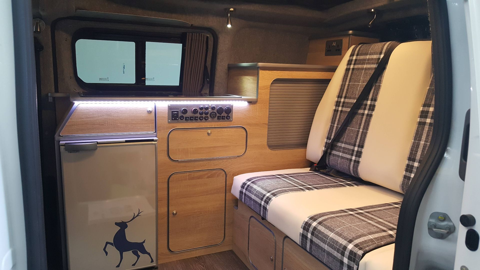 campervan campercar cream louise upholstery