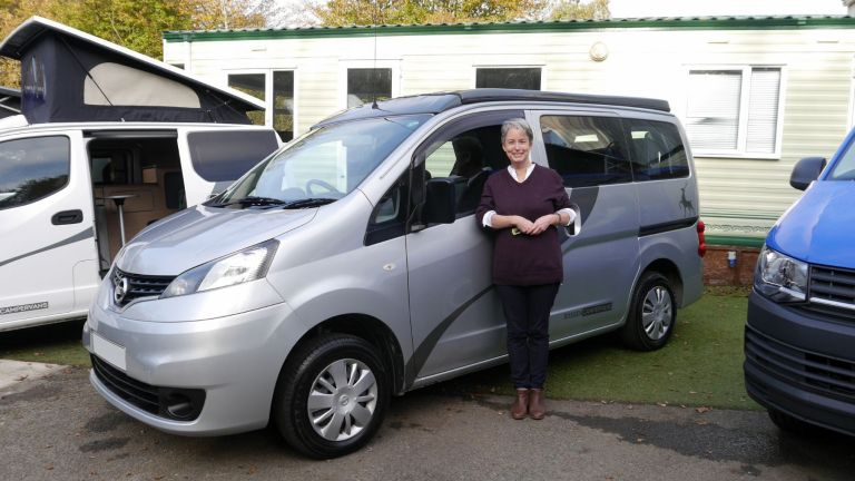 Meet Nicola Starlight Silver NV200 CamperCar Sussex Campervans Horsham.JPG